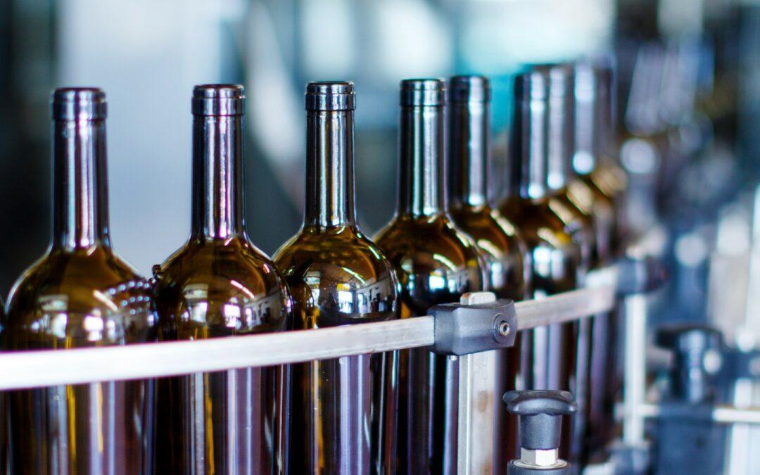 Construction d'un outil d'étude de convoyage de bouteilles